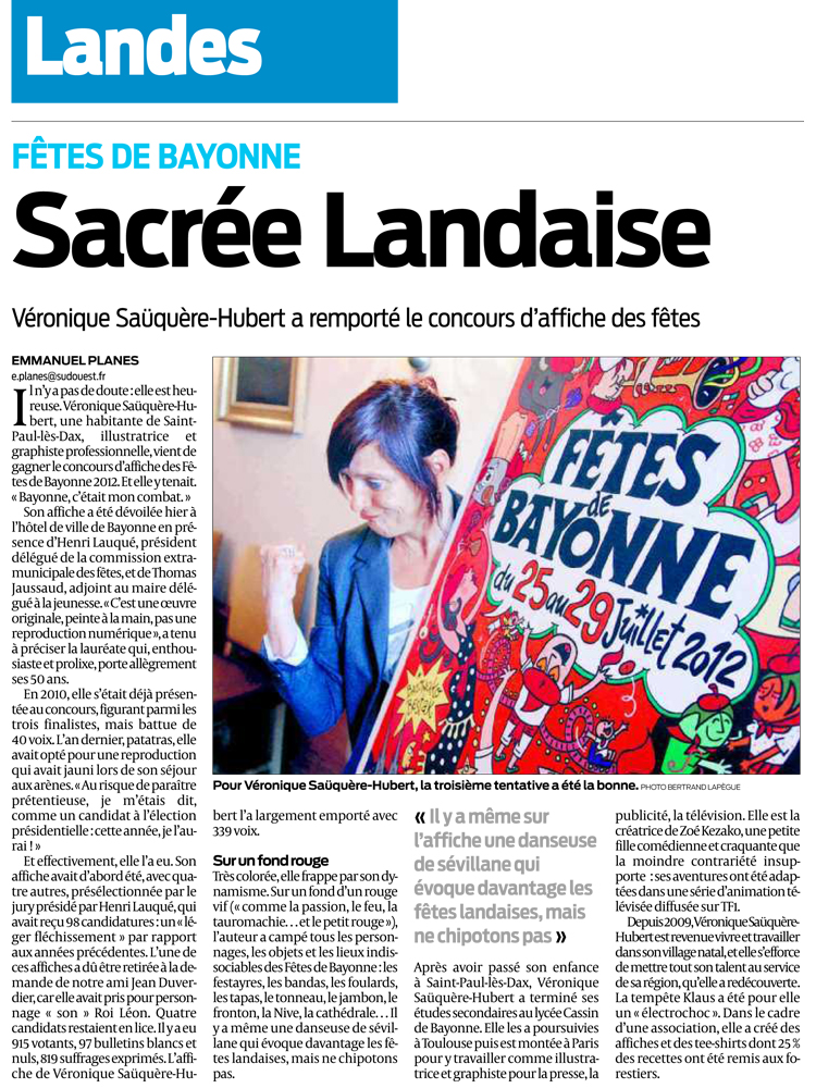 SUD OUEST - Avril 2012
