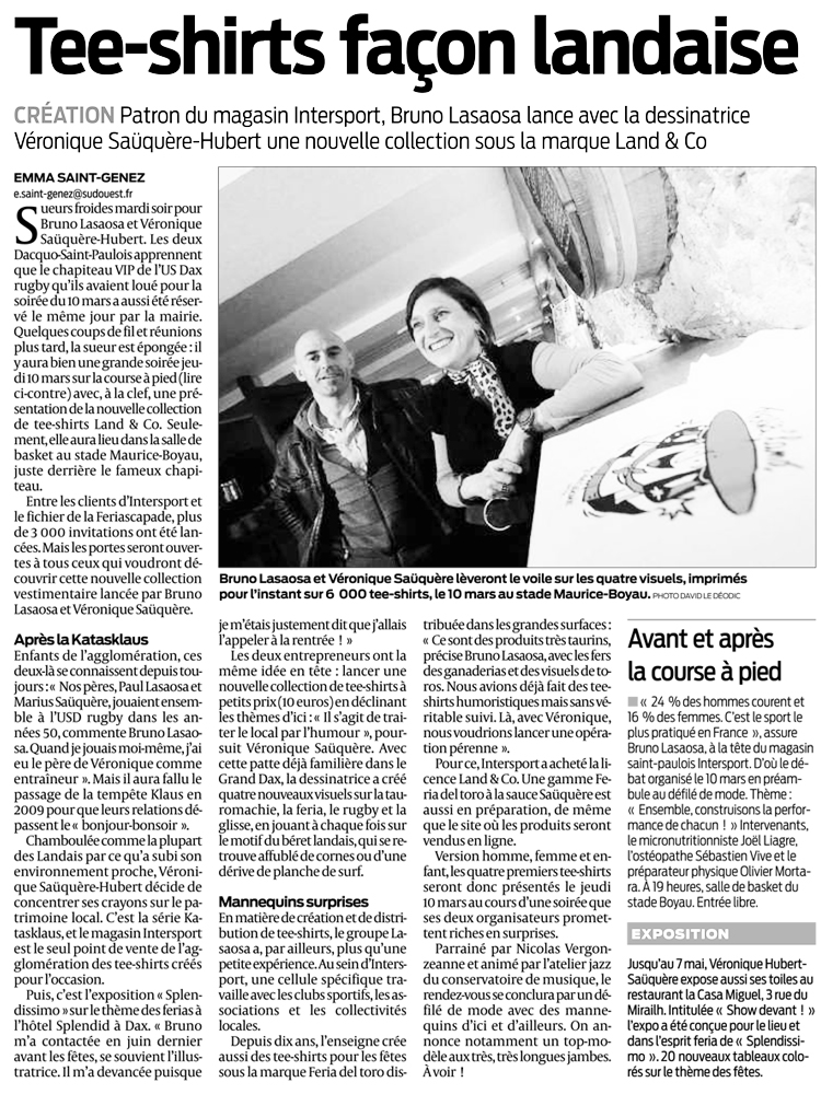 SUD OUEST - Mars 2011