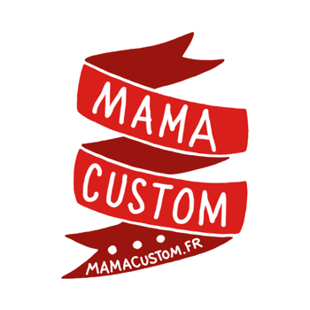 MAMA CUSTOM-STICKER